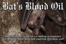 Bat's Blood Oil Recipe