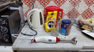 Some of the ingredients for my xocolatl
